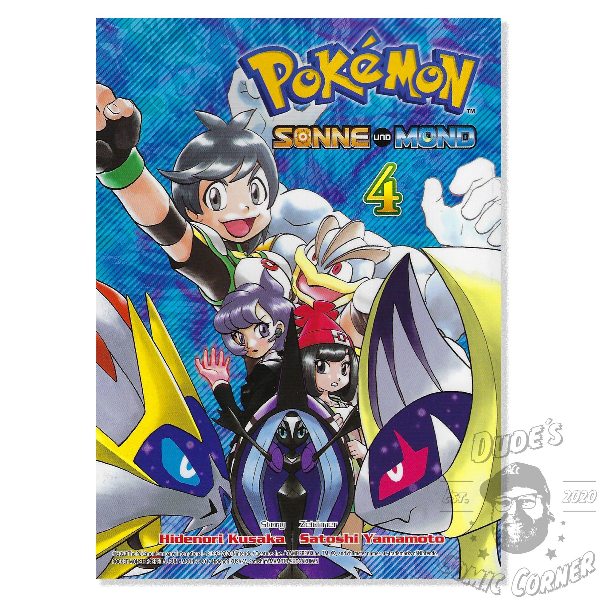 Pokémon: Sonne und Mond #4 | Dudes Comic Corner