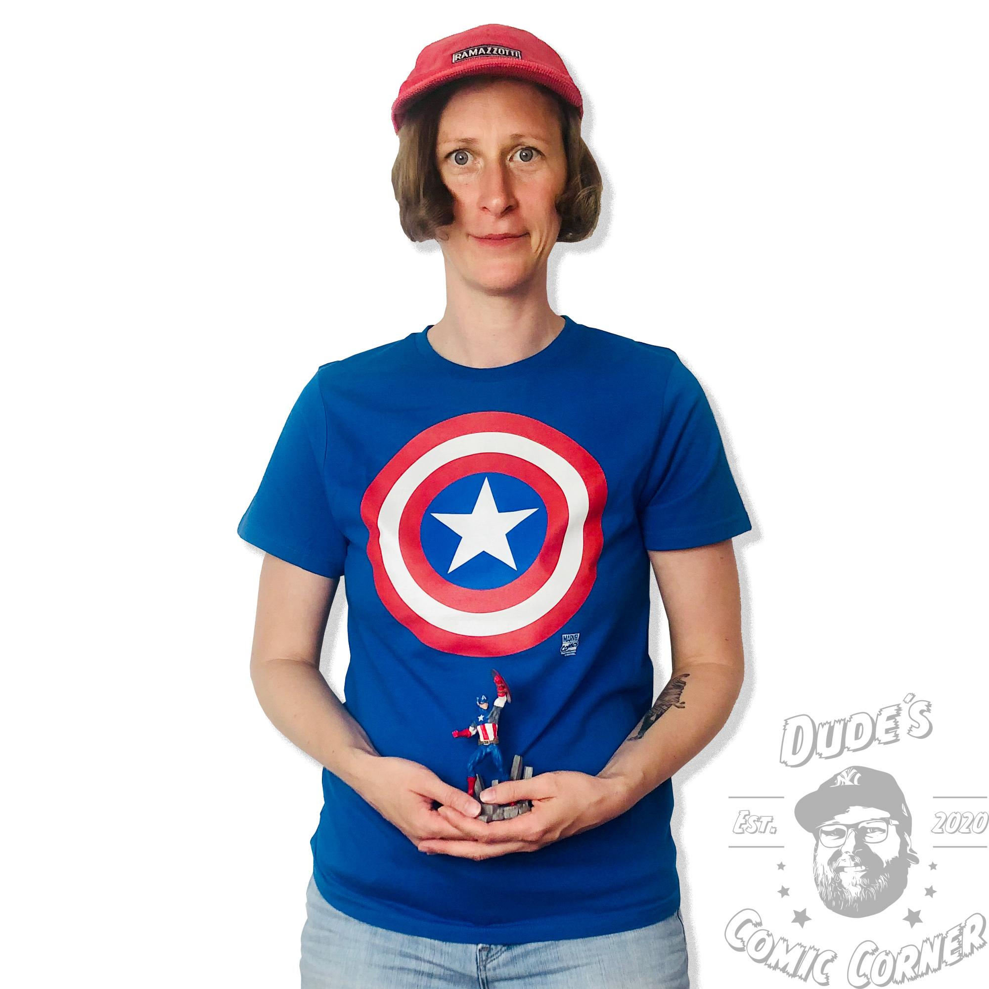 Shield Baby Body blau Logoshirt Captain America